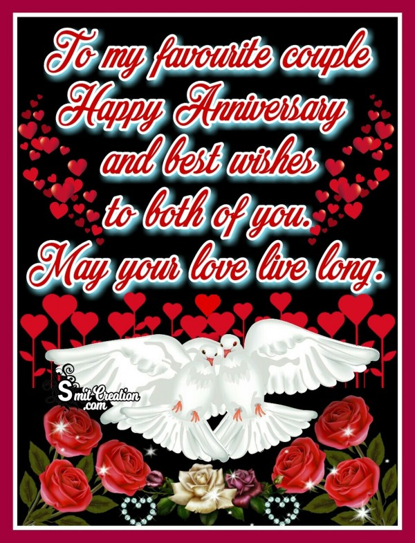 Happy Wedding Anniversay