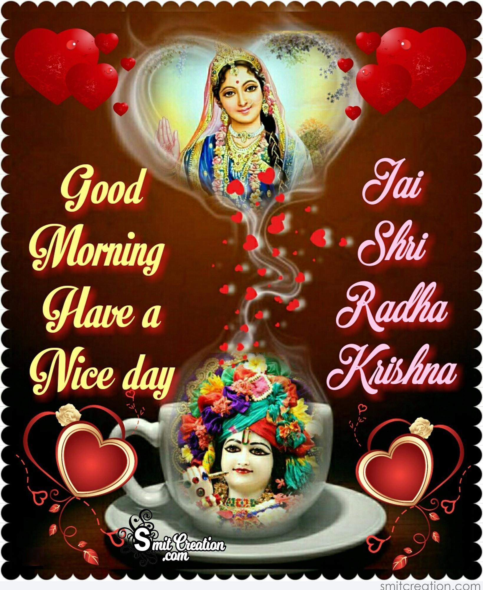Radha Krishna Good Morning Pictures And Graphics Smitcreationcom