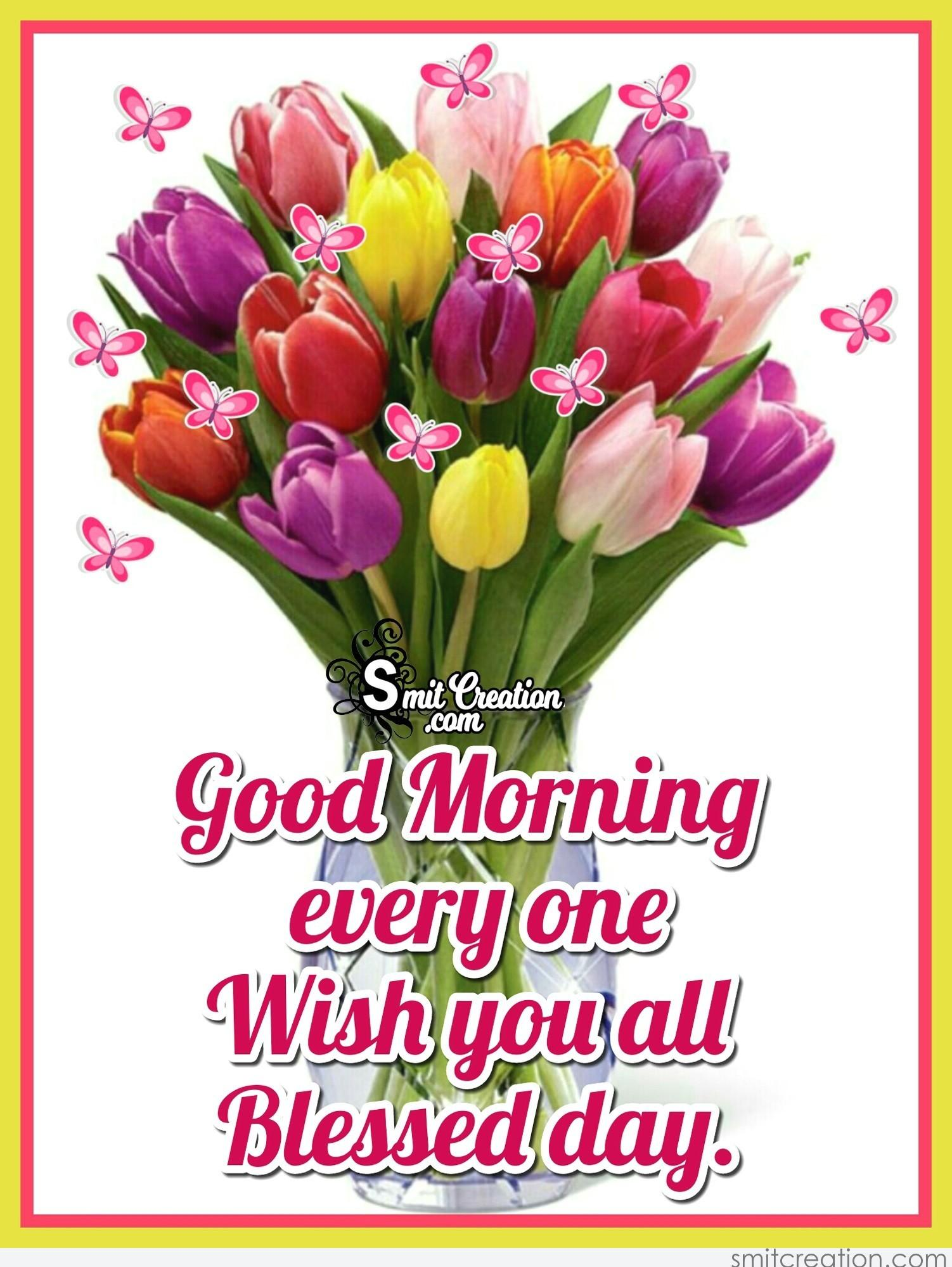 Good Morning Bouquet Pictures and Graphics - SmitCreation.com