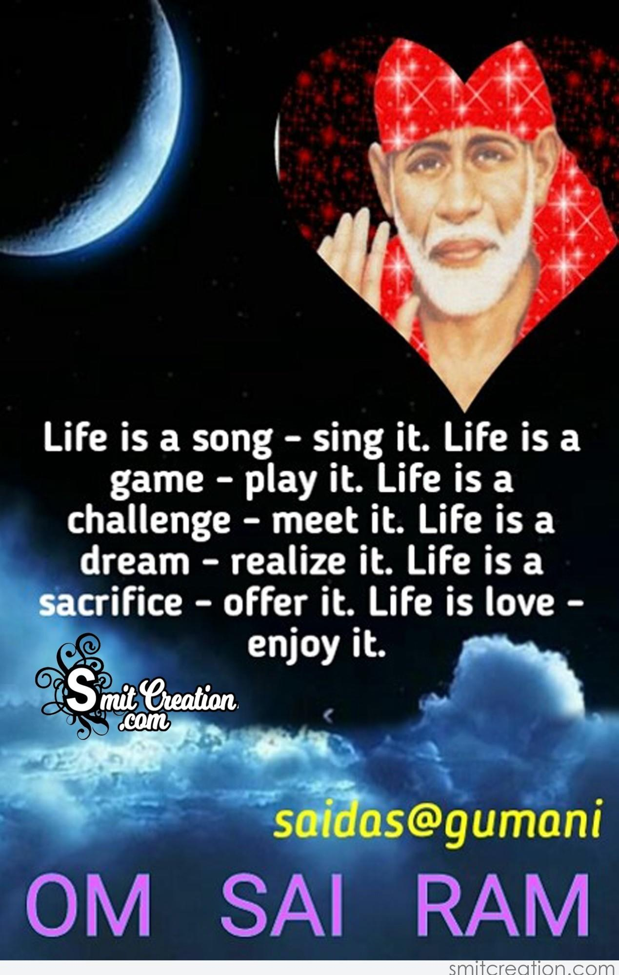 Sai Baba Quotes Pictures and Graphics - SmitCreation.com