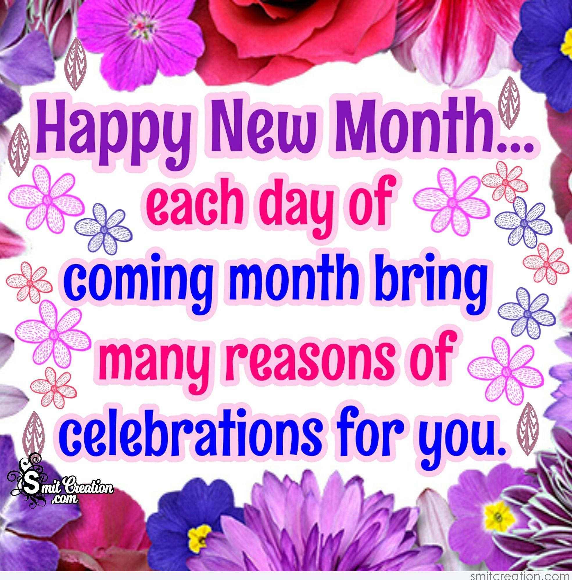 Month pictures and graphics smitcreation happy new month each day of coming month bring many reasons of celebrations for you m4hsunfo