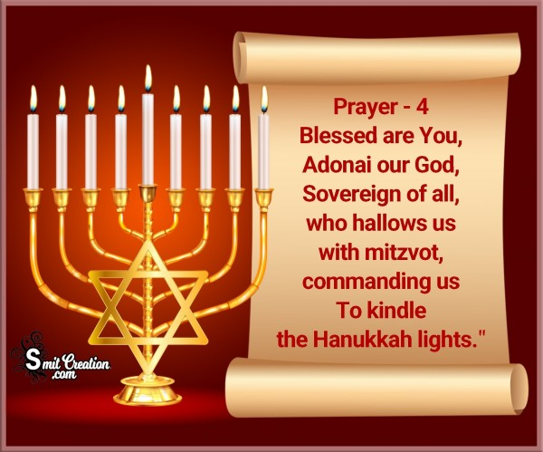Hanukkah Prayer – 4