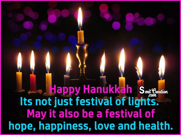 Happy Hanukkah – Its Not Just Festival Of Lights