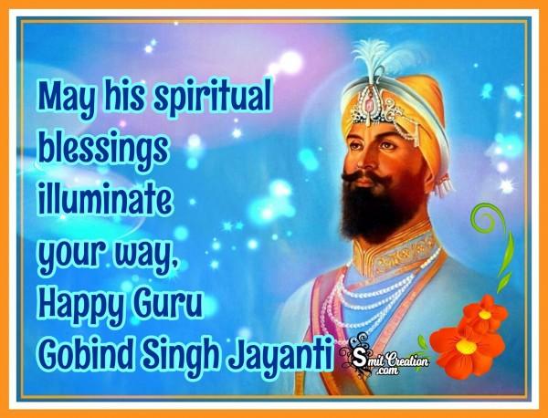 Happy Guru Gobind Singh Jayanti Image