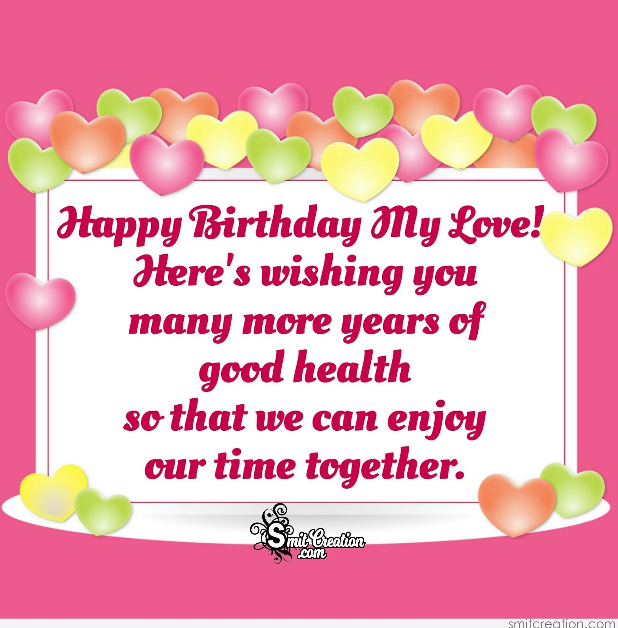 Birthday Wishes For Wife Pictures And Graphics