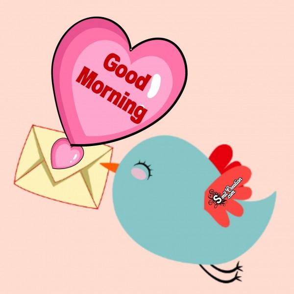 Sending Good Morning Via Birds