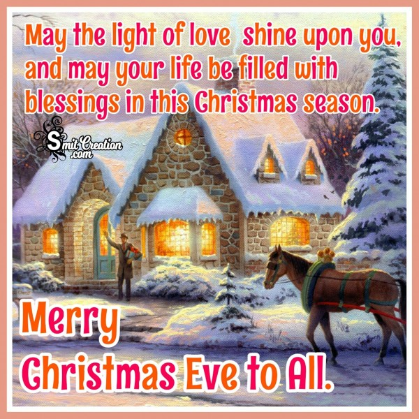 Merrry Christmas Eve To All