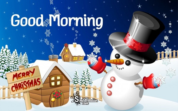 Good Morning Merry Christmas