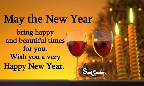 Wish You A Very Happy New Year.