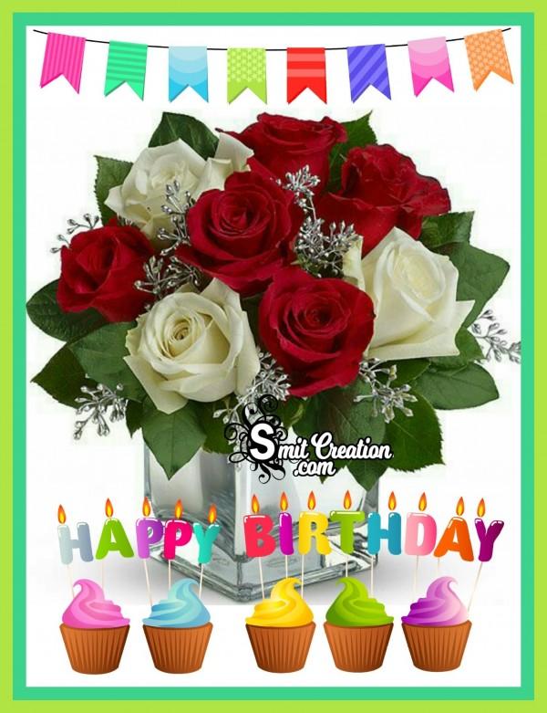 Happy Birthday Flowers Bouquet
