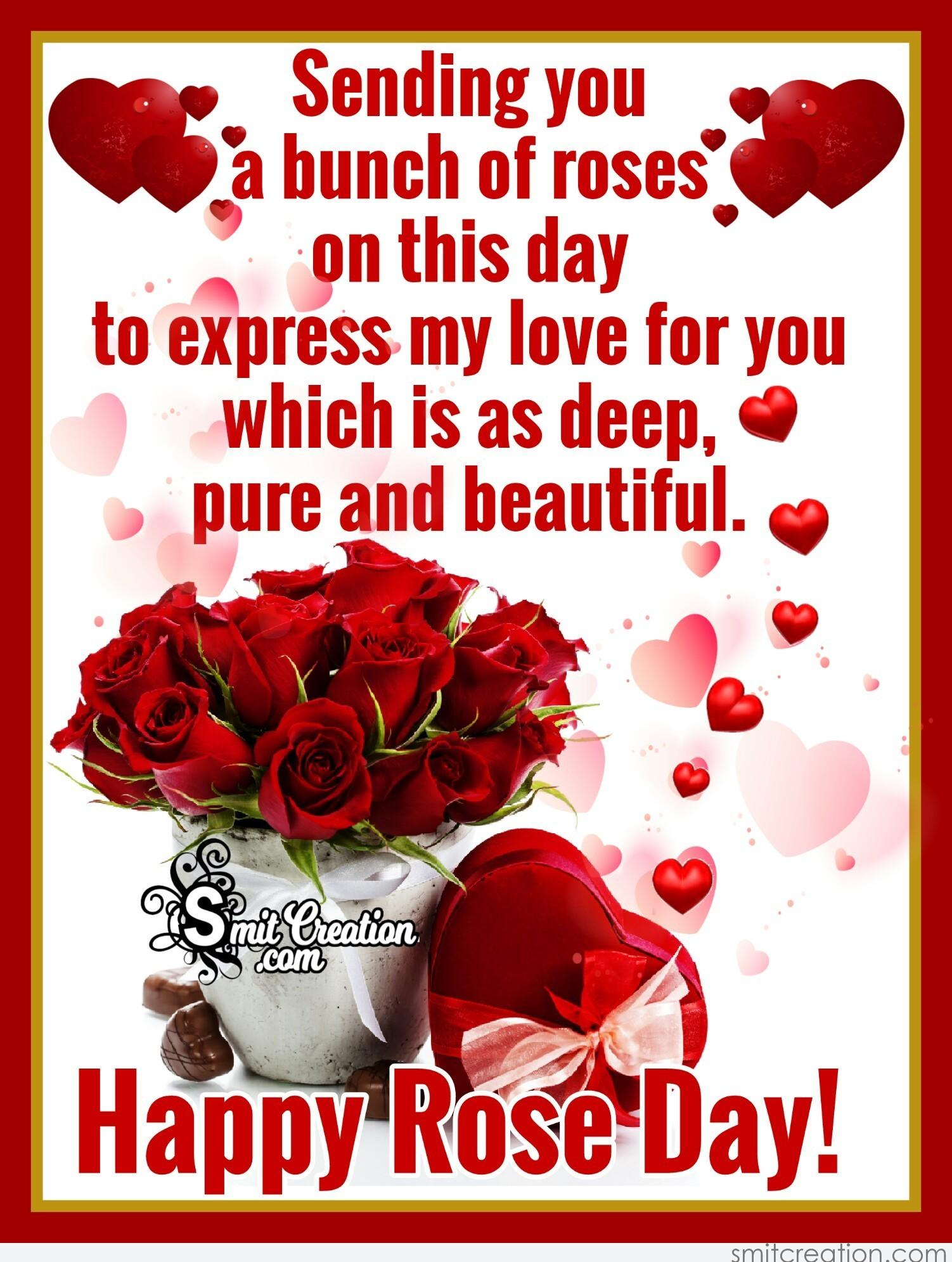 Rose Day Pictures and Graphics - SmitCreation.com