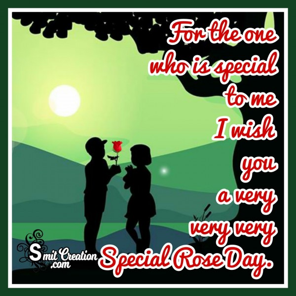 For The One Who Is Precious To Me – Happy Rose Day!