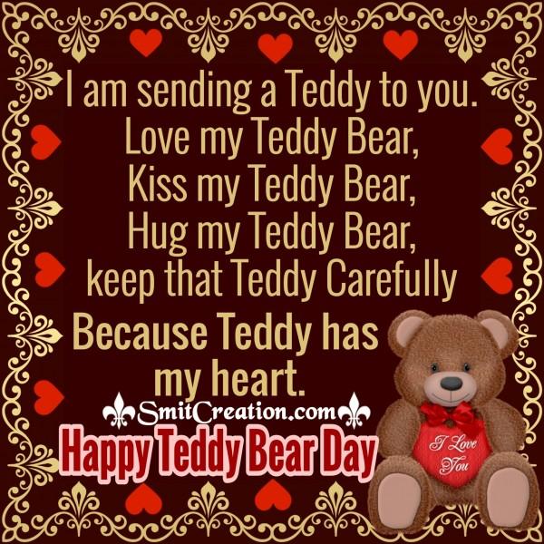 Happy Teddy Bear Day – I Am Sending A Teddy To You