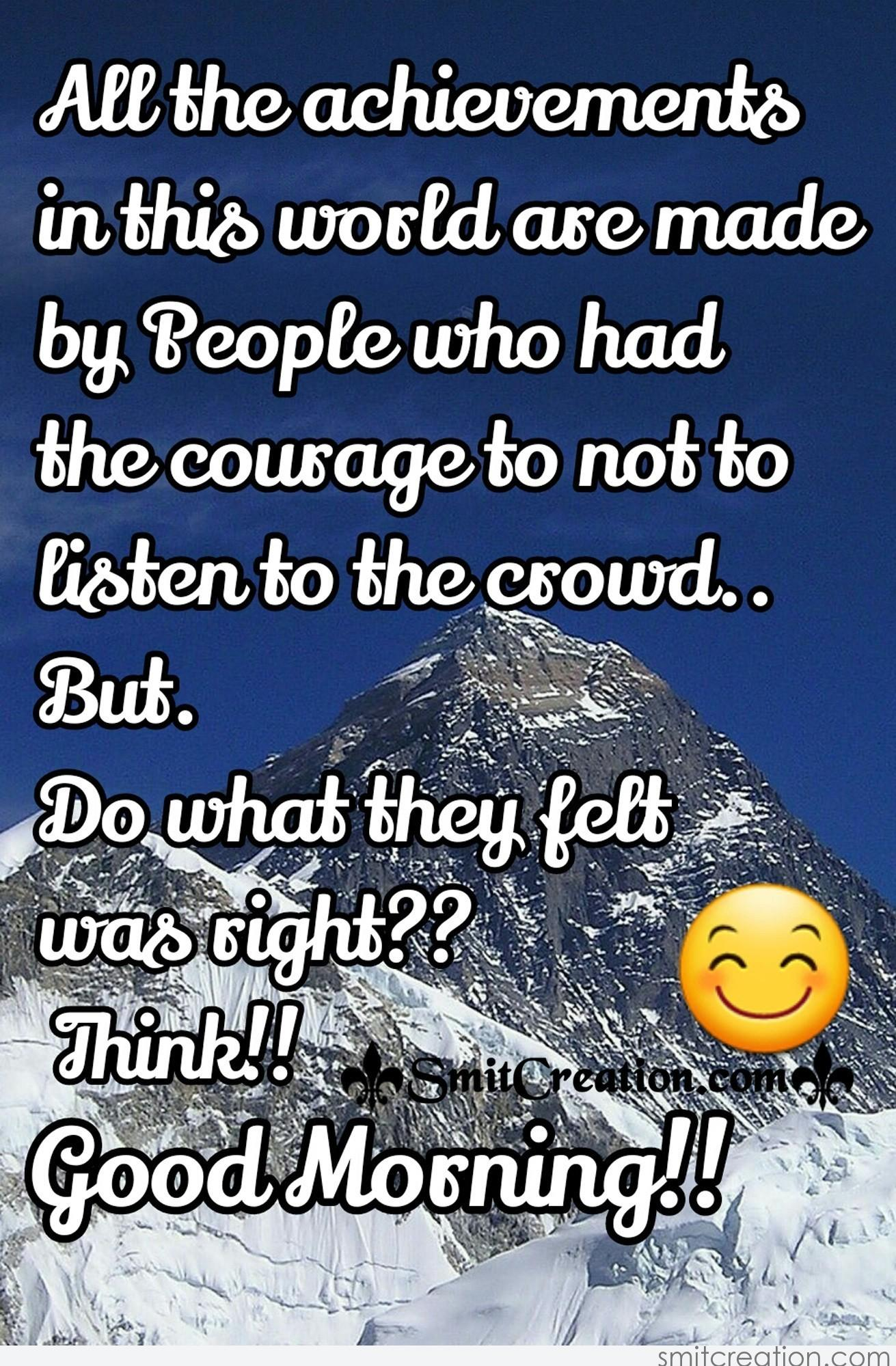 Good Morning Quotes For Facebook Good Morning Inspirational Quotes Pictures And Graphics