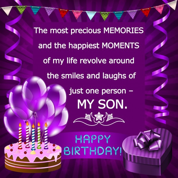 Happy Birthday My Dear Son