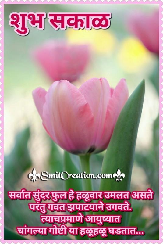 Shubh Sakal – Changlya Goshti Halu Halu Ghadtat