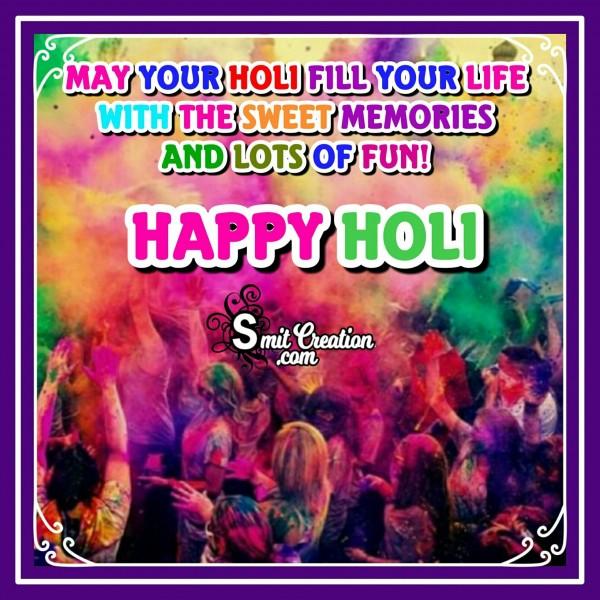 Happy Holi Message Greeting