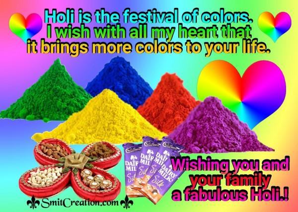 Happy Holi Greeting Wishes