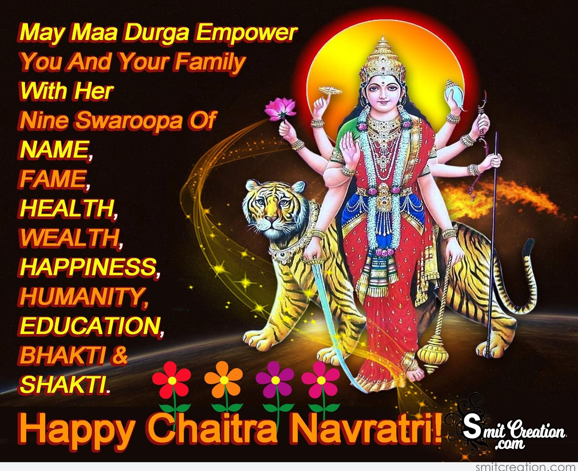 Chaitra Navratri Pictures And Graphics Smitcreation