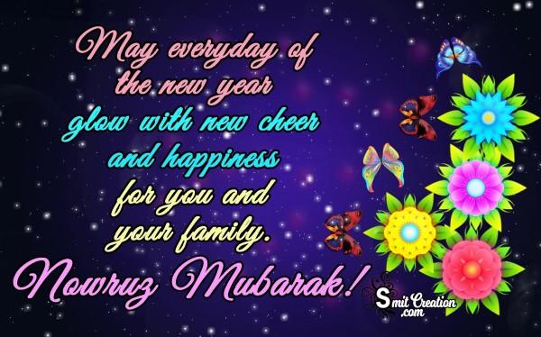 Nowruz Mubarak!