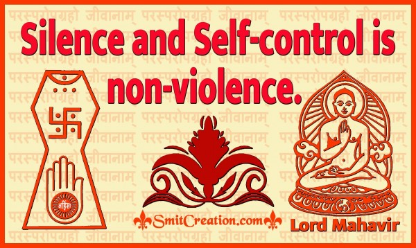 Silence And Self-control Is Non-violence
