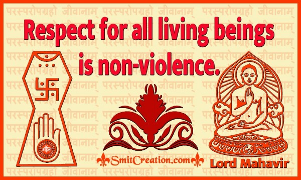 Respect For All Living Beings Is Non‑violence