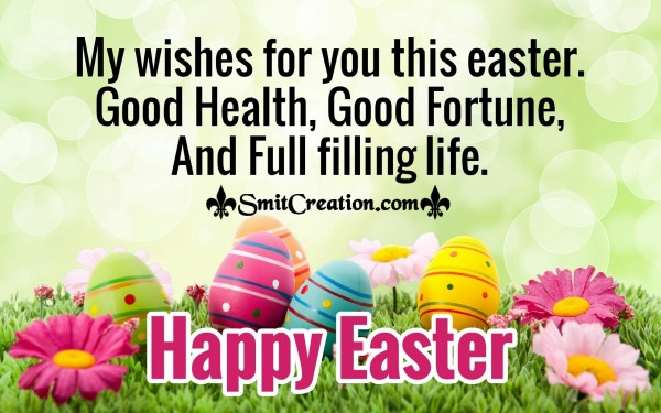 My Wishes For You This Easter