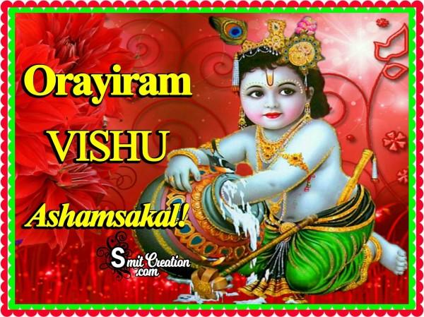 Orayiram VISHU Ashamsakal
