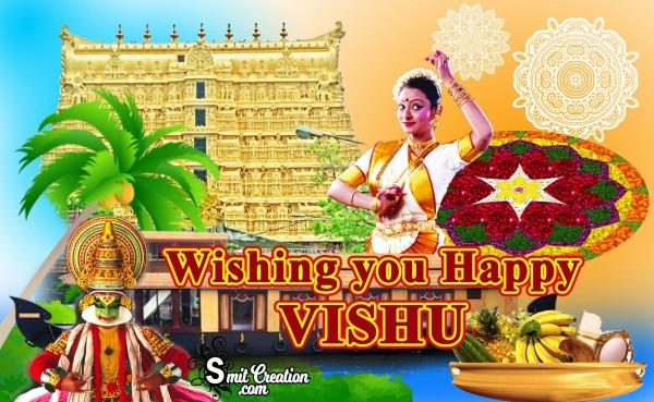 Wishing you Happy VISHU