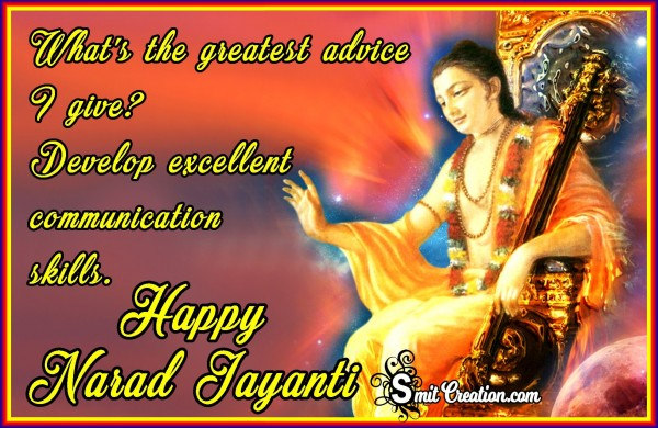 Happy Narad Jayanti
