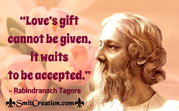 Love's Gift Cannot Be Given