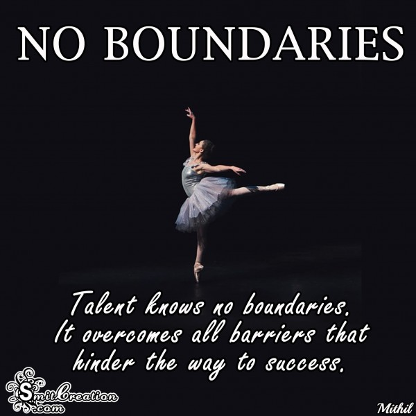 Talents Knows No Boundaries