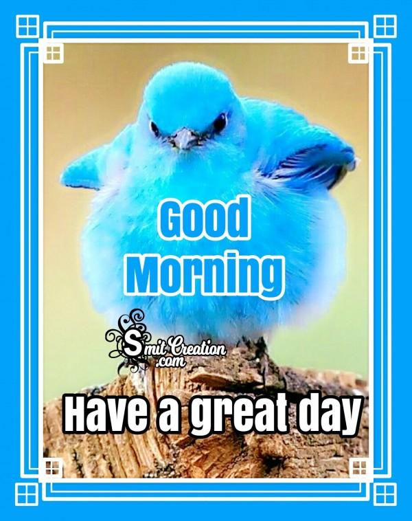 Good Morning Blue Bird Image