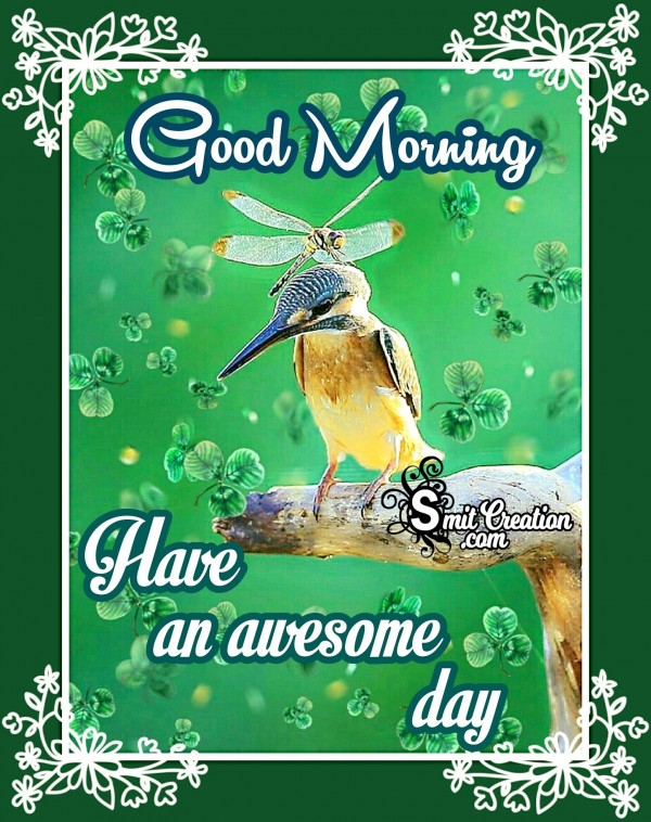 Good Morning - Have An Awsome Day