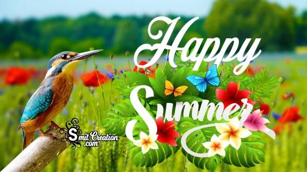Happy Summer .