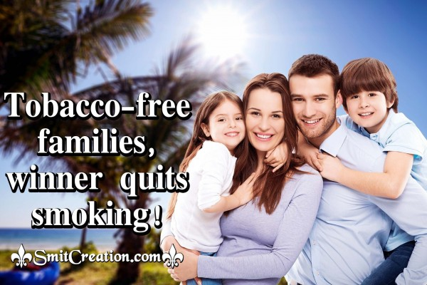 Tobacco-free Families, Winner Quits Smoking!