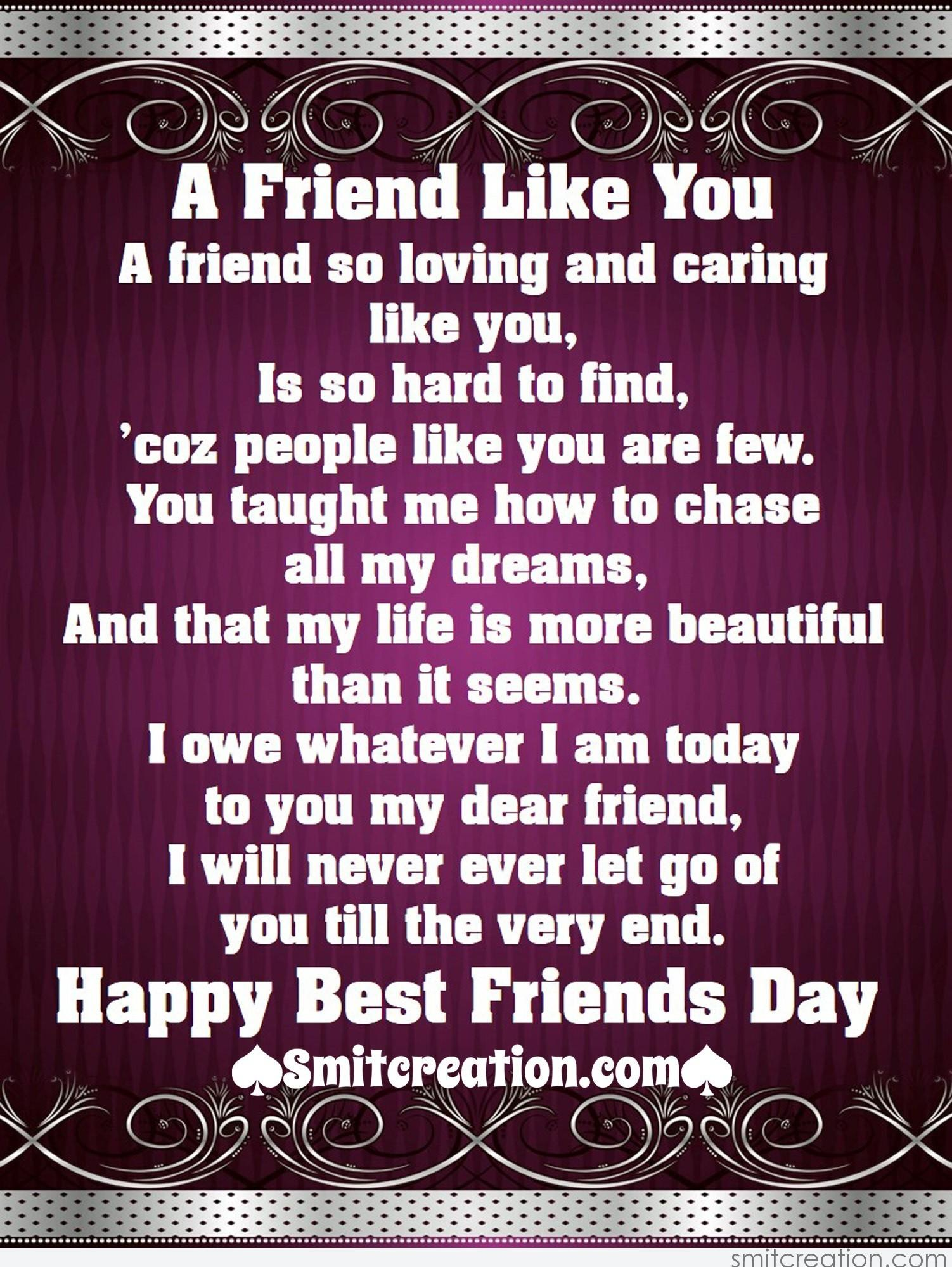 So friend my you are beautiful Am I