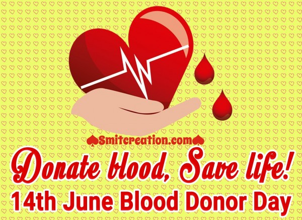 Donate Blood, Save Life!