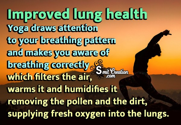 Improved Lung Health
