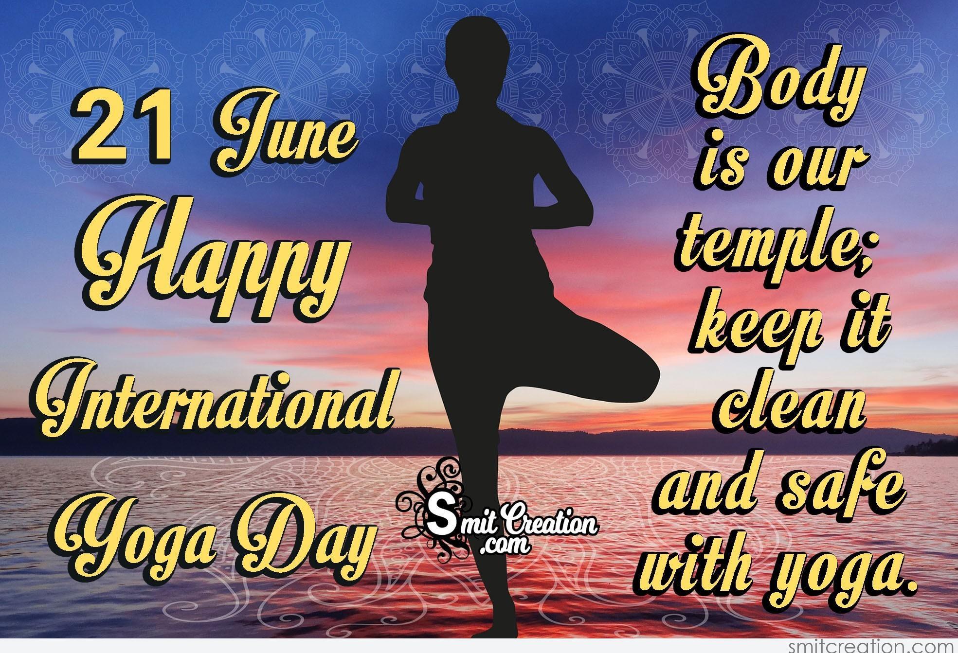 21 June Happy International Yoga Day Smitcreation Com