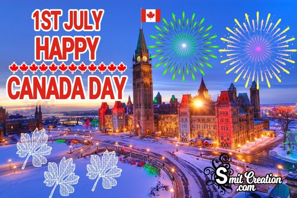 1ST JULY HAPPY CANADA DAY