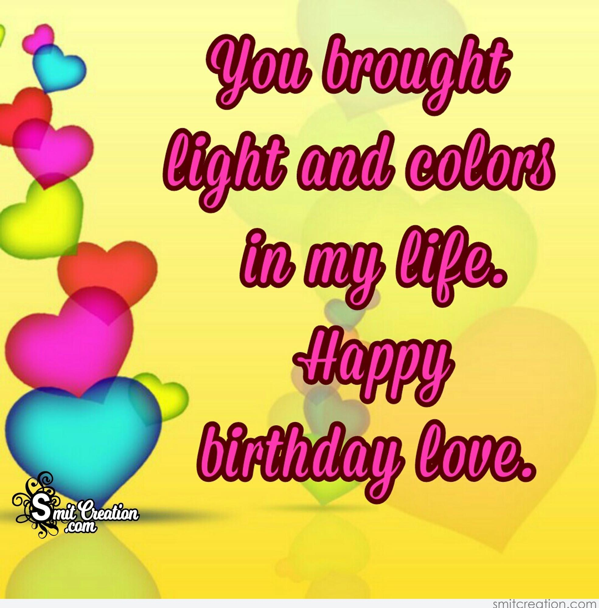 Birthday Wishes For Girlfriend Pictures And Graphics Smitcreation