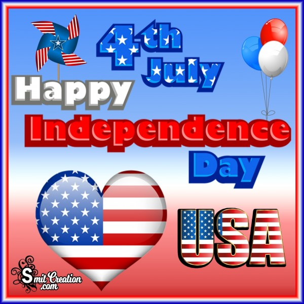 4th July Happy Independence Day USA