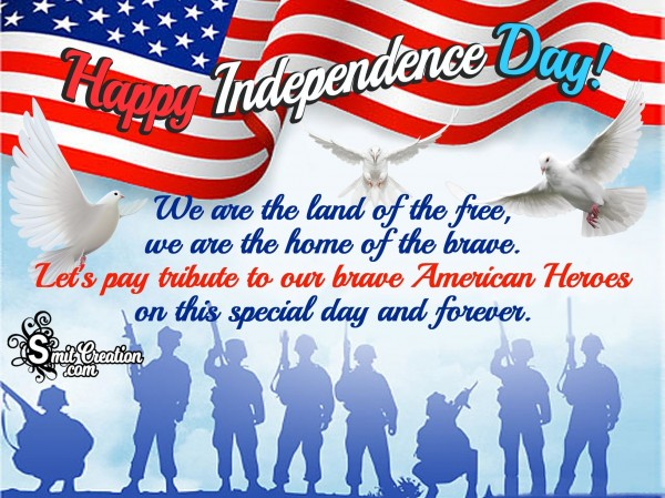Happy Independence Day! – 4th July