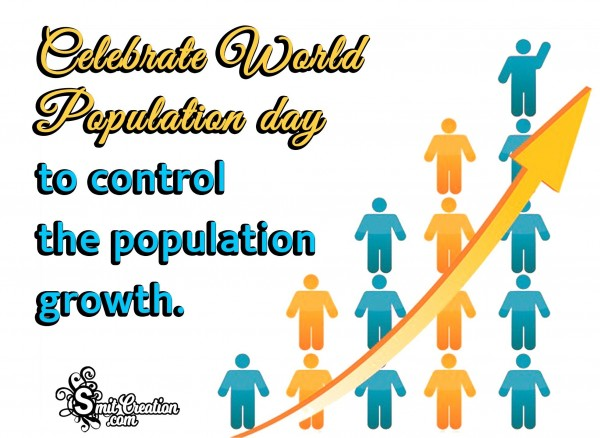 Celebrate World Population Day