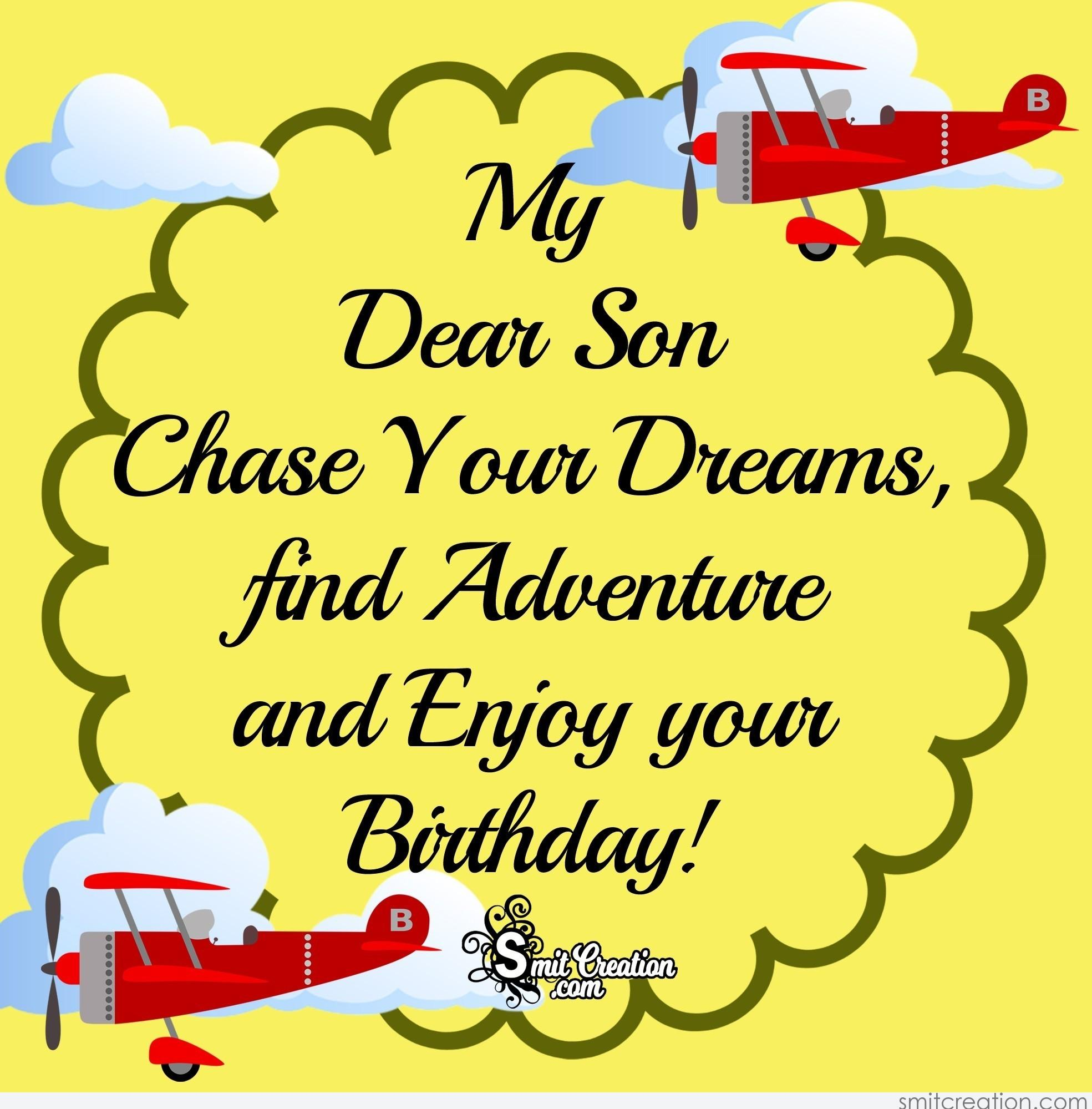 Phenomenal Birthday Wishes For Son Pictures And Graphics Smitcreation Com Funny Birthday Cards Online Alyptdamsfinfo