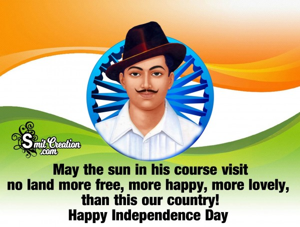 Independence Quote By Bhagat Singh