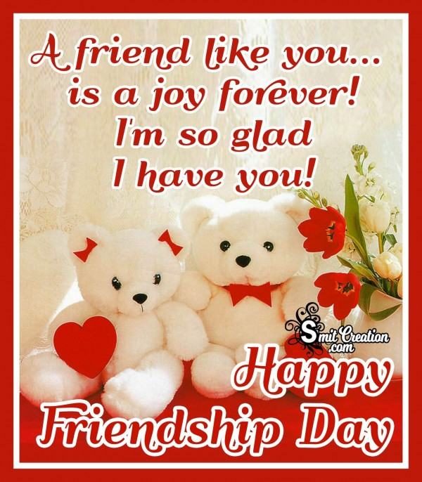 Happy Friendship Day Message Image