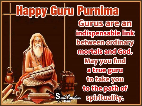 Happy Guru Purnima Quote Image