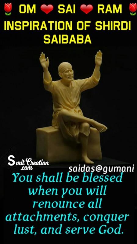 Inspiration Of Shirdi Saibaba